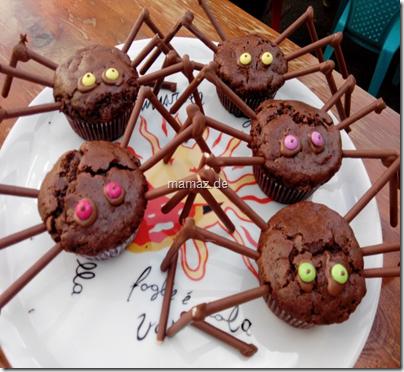Rezept Muffin-Spinnen