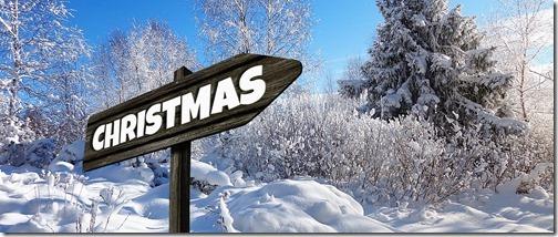 Wegweiser Christmas