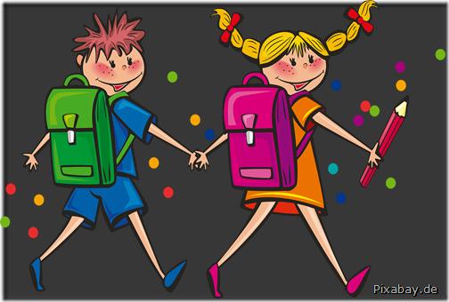 Schulkinder Pixabay