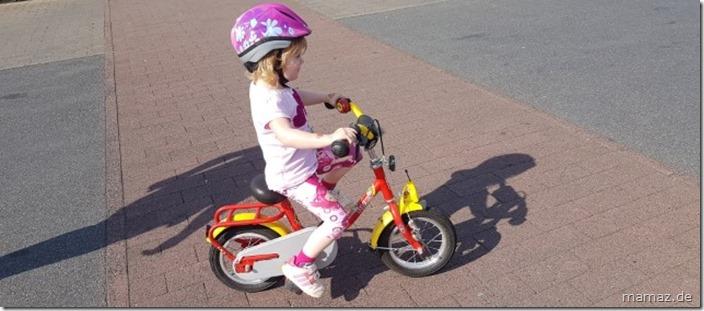 Fahrrad fahren mit 3