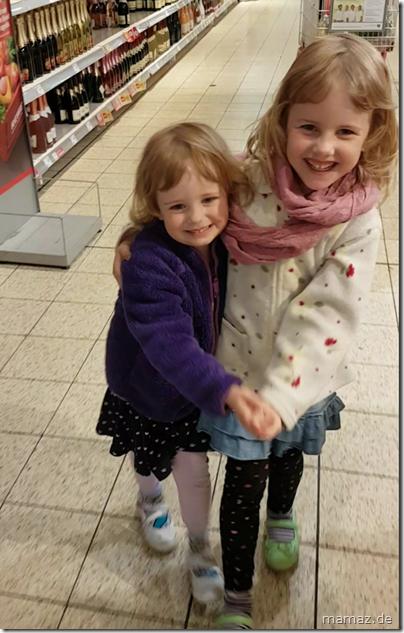 Tanzen im Supermarkt