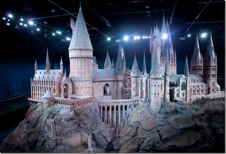 Hogwarts castle model - Harry Potter Studio Tour