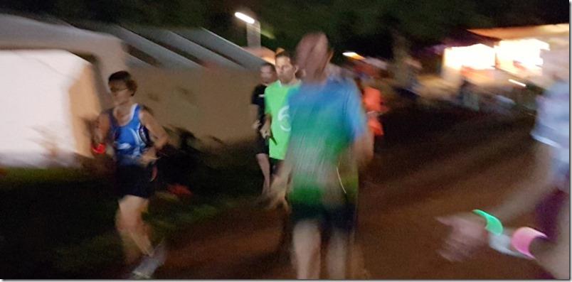 24 Stunden Lauf - es wird dunkel