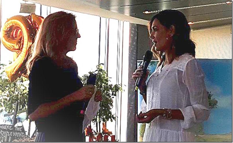Jana Ina Zarrella 2016 Disney Baby Breakfast