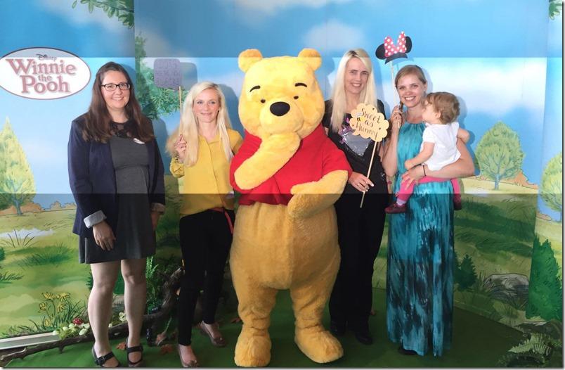 Winnie Pooh und Bloggertreffen