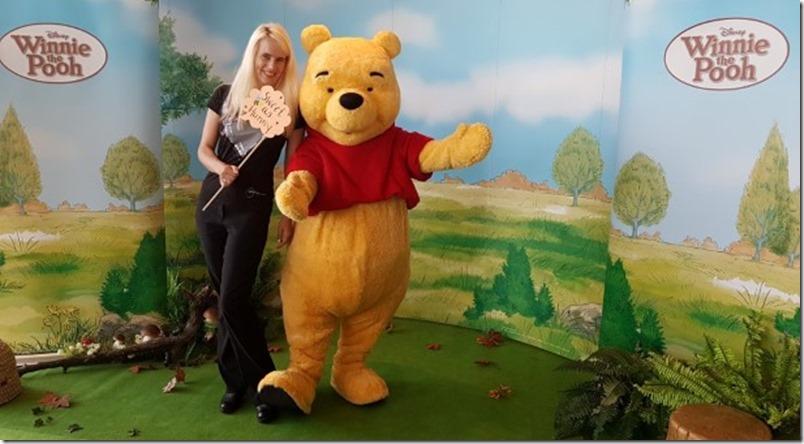 mamaz und Winnie Pooh Disney Breakfast 2016