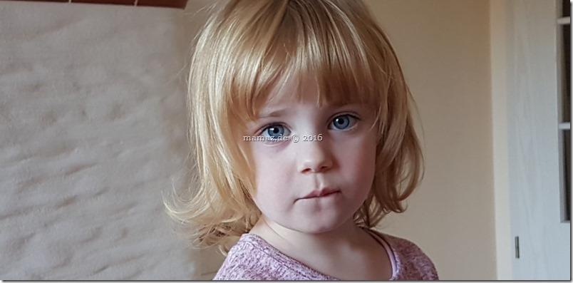 Blaue Kinderaugen