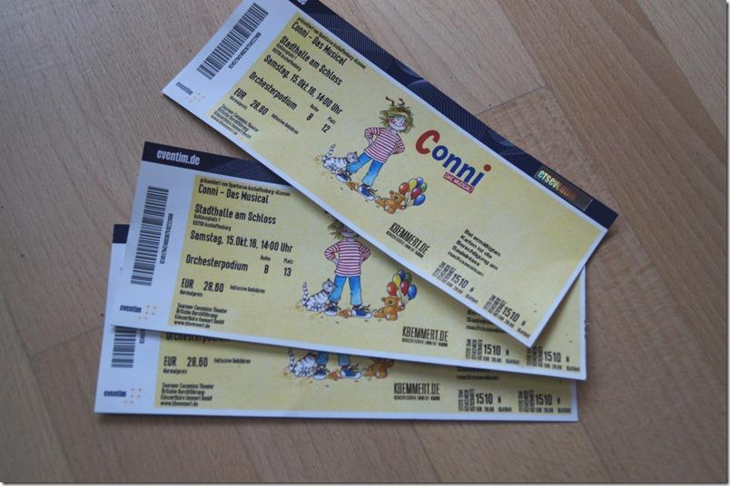 Eintrittskarten Conni Musical