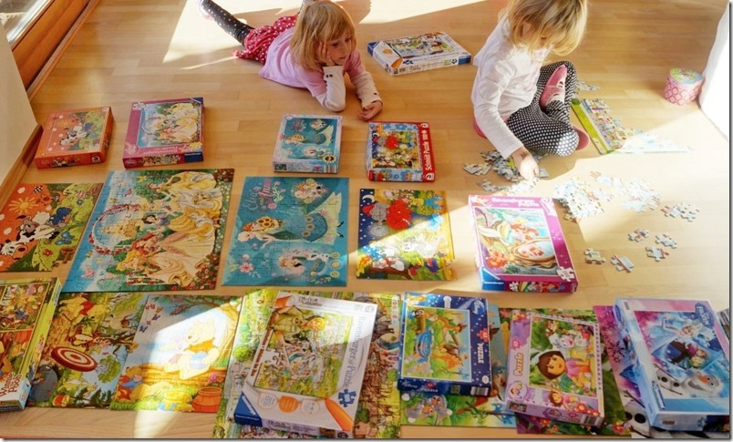 Puzzlen mit Kindern mamazde