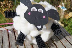 Laterne basteln Shaun das Schaf Anleitung