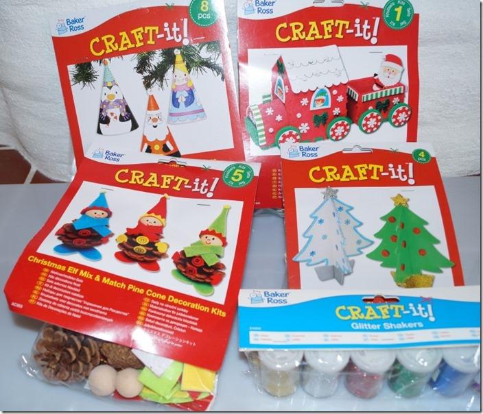 Bastelsets zu Weihnachten