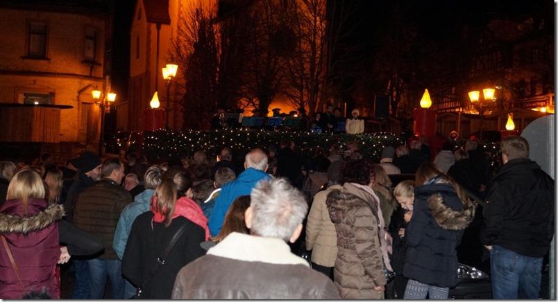 Weihnachtsführung Gelnhausen Start