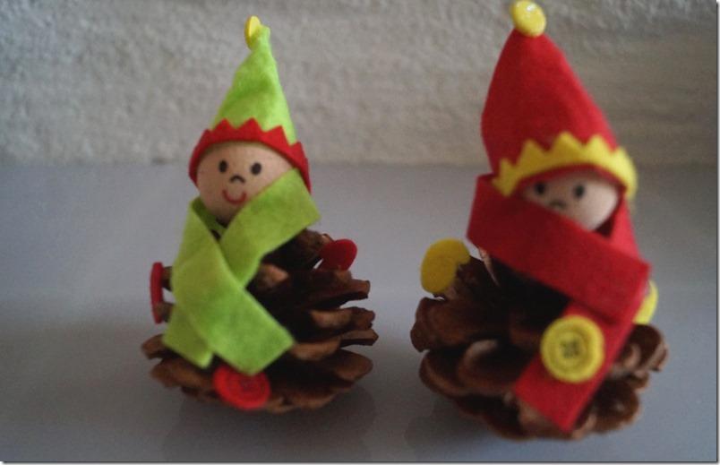 Weihnachtswichtel Bastelset