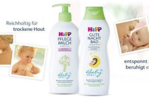Hipp Babysanft Gute Nacht Bad und Pflegemilch – nicht nur für Babys *Werbung*