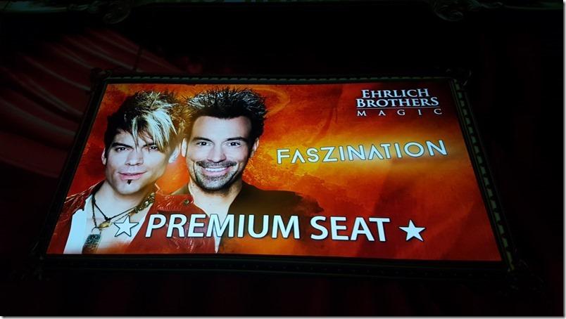 Ehrlich Brothers Faszination Premium Seats