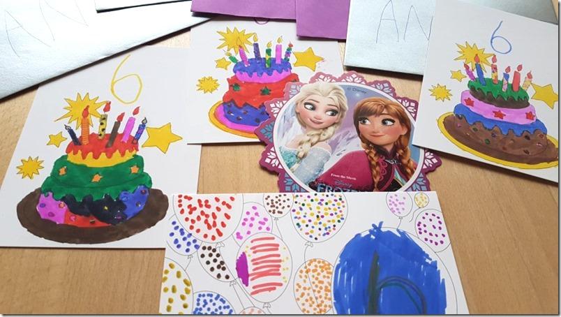 Geburtstagseinladungen basteln