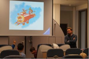 WIB Recap – Vorlesetag mit Steven Gätjen: Wilbur McCloud
