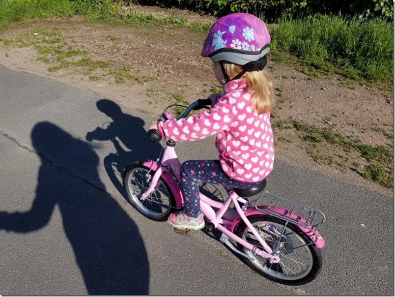 4 Jahre Fahrrad fahren