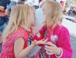 Kinder und teilen