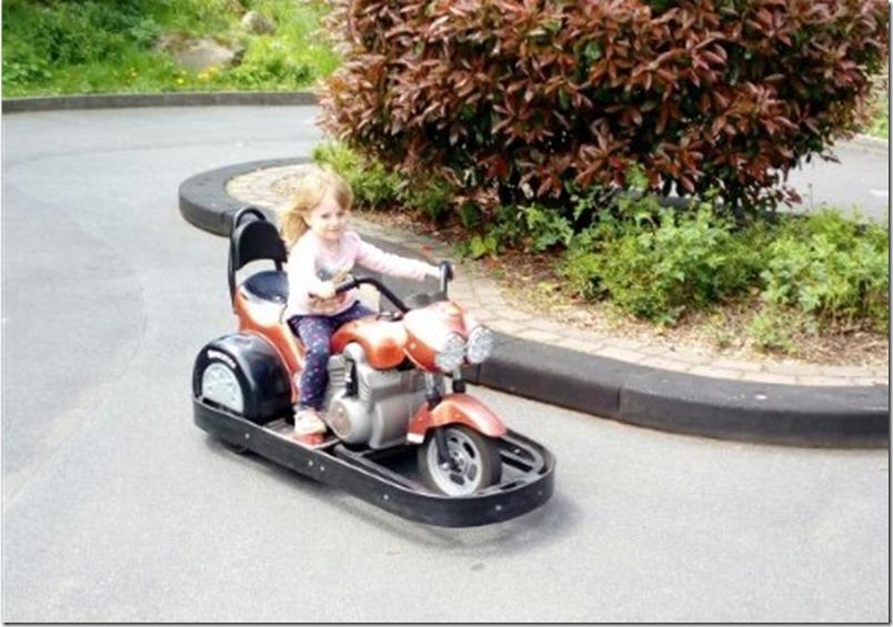 Opel Zoo Kronberg Motorrad