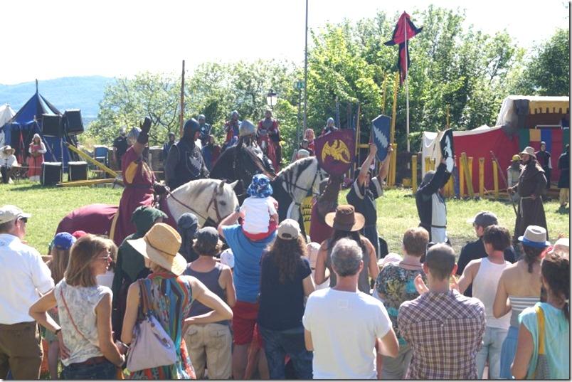 Ritter Turnier Burg Koenigstein