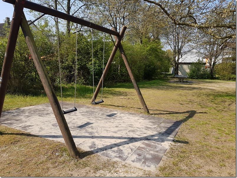 Spielplatz vorher