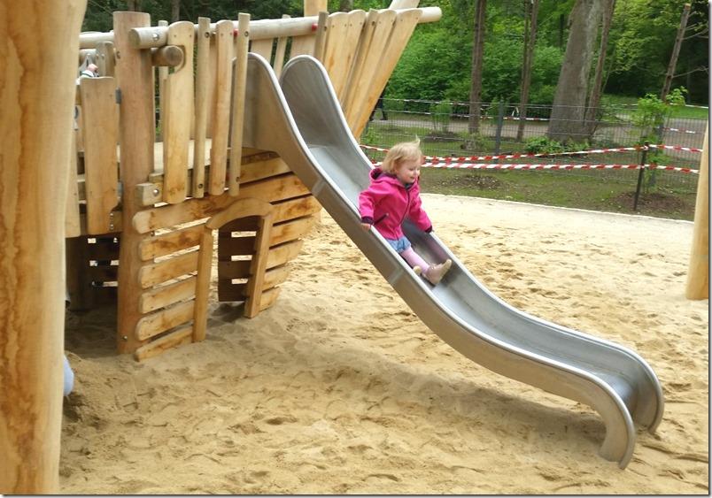 Traum Spielplatz Rutschbahn