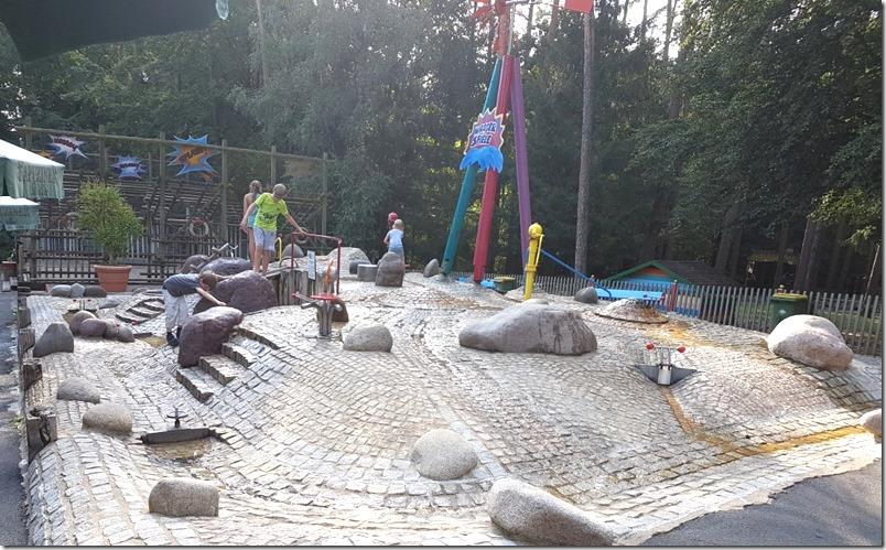 Wasserspielplatz Edeka Spielplatz Aktion