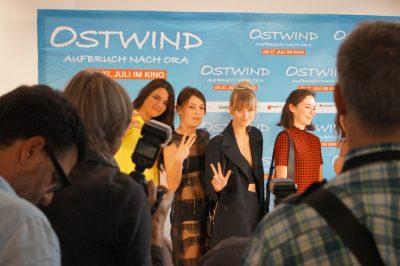 Cast Ostwind 3 bei Premiere Frankfurt
