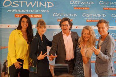 Gute Laune bei der Ostwind 3 Premiere in Frankfurt