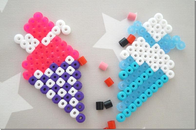 Hama Beads Zuckertüte Bügelperlen