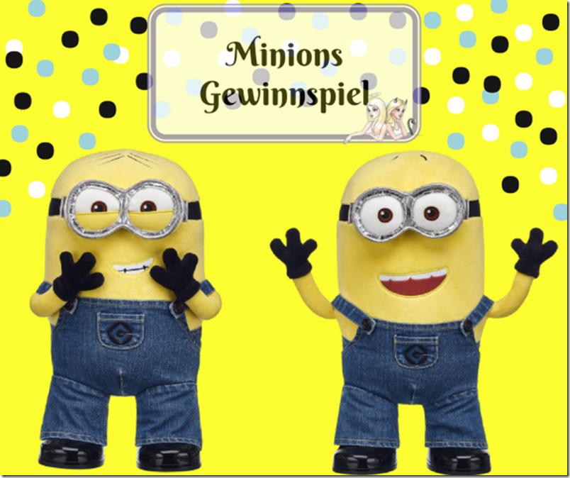 Minions Gewinnspiel - Dave und Jerry aus Plüsch von Build a Bear
