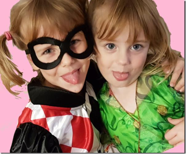 DC Super Hero Girls Kostueme Poison Ivy Harley Quinn von Ruby