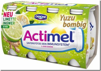 Actimel_Limette Ingwer Yuzu