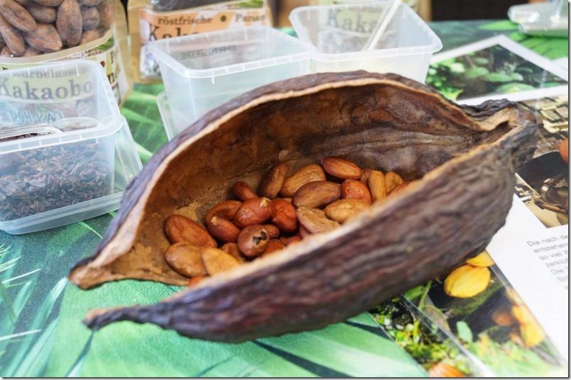 Kakaofrucht innen