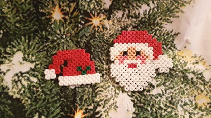 Perler Bead 3d Weihnachtsmann Youtube