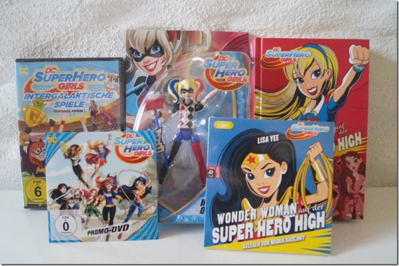 Gewinnspiel DC Super Hero Girls