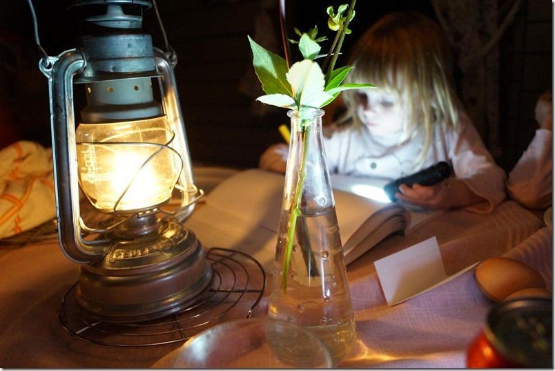 Glamping ohne Strom