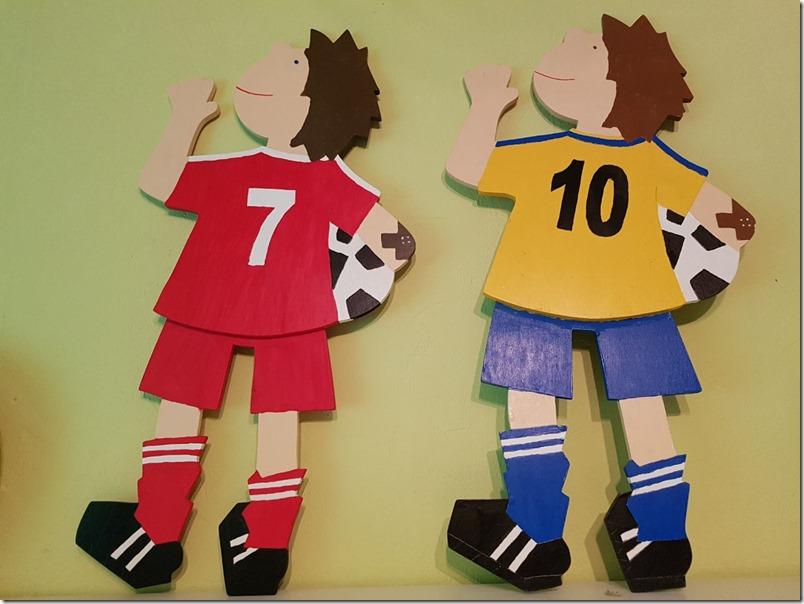 Kinderzimmer Deko Fussball